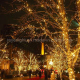 Wasserdichte LED reiht helle Feiertags-Dekoration auf