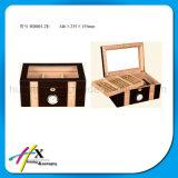 رفاهيّة لامعة إنجاز سيجار [هندمد] خشبيّة يعبر صندوق