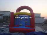 Commercial Grade Bounce House inflável Bouncer Slide para atacado