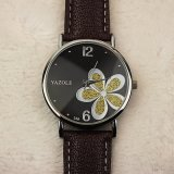 338 Yazole Dame Watch Waterproof Luxury Watch voor de Gift van de Verjaardag