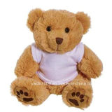 ours de nounours de peluche de 30cm Customed avec le T-shirt