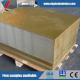Strato di alluminio di AA3105 H14 per le protezioni dei pp