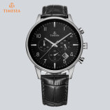 OEM Logo72310が付いている安いカスタマイズされたファッション・ウォッチの革ブレスレットの腕時計
