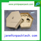 Коробка подарка бумаги хранения коробки изготовленный на заказ меда упаковывая