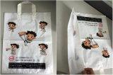 Máquina macia do saco de portador do saco de plástico do saco do laço da selagem inferior automática