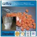 A alta qualidade oral com 10mg/20mg marca o pó cru Dianabol/72-63-9 de Dbol Dianabol