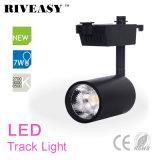 7W Ce&RoHS LED 가벼운 램프를 가진 까만 LED 궤도 빛