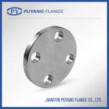 Flange cego forjado de aço inoxidável ASME B16.5 / DIN / JIS / En1092-1 / GB