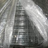 Red de alambre soldada galvanizada del acoplamiento de alambre y hoja concreta del alambre