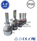 Whoelsaleの価格自動LEDの球根H4車LEDのヘッドライト(H1、H7、H8、H9、H11、9006、9005)