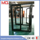 Puerta y ventana de cristal dobles de aluminio Guangzhou de la mejor calidad