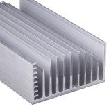 Perfil de alumínio/de alumínio anodizado para o dissipador de calor com ISO9001 & Ts16949 Certificated