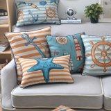 Insiemi di tela del cuscino di manovella del cotone di affare per mobilia esterna