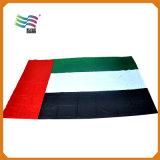 Os pés do poliéster 3X5 da promoção bordaram a bandeira nacional do país