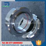 Volledige Unie van het Type van Roestvrij staal van Dn125 Ss316L de Sanitaire Korte