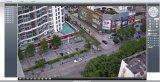 800tvl appareil-photo de cadre léger intense d'IP de l'alignement IR DEL (IP-8806H)