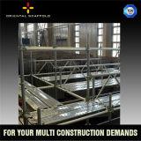 Ringlock de acero galvanizado Echafaudage para la construcción de edificios