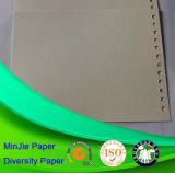 Type réutilisé de pulpe et feuilles de carton colorées par enduit non-enduit