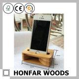 Естественный деревянный деревянный держатель телефона корабля