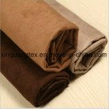 75D tissu de suède de trame du polyester huit pour le vêtement/chaussures/sofa/palier/textiles/sacs à la maison