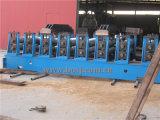 Máquina de formación de laminado en caliente de la alcantarilla acanalada del tubo de la placa de la estructura
