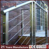 Fuera del pasamano del cable del acero inoxidable de la escalera (DMS-B2507)