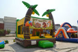 Aufblasbare Kind-minimaler kletternder Hindernis-Kurs-Spielplatz für Verkauf
