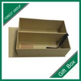 Contenitore di regalo di carta di lusso su ordinazione all'ingrosso con la finestra del PVC