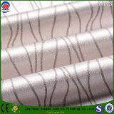 Tissu ignifuge imperméable à l'eau de rideau en jacquard de polyester tissé par textile à la maison