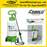 pulvérisateur électrique de sac à dos de chariot à batterie du jardin 12L