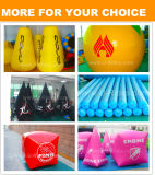 PVC Air Sealed Inflatable Life Buoy Gold Color