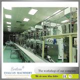 Doces, máquina de embalagem vertical automática do chocolate com escala
