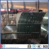 Curve / Bend Clear and Colored Tempered / Toughened Glass