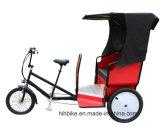 Стильный пассажир Pedicab кабины с рамкой нержавеющей стали