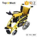 El sillón de ruedas eléctrico plegable más barato de la potencia de Topmedi