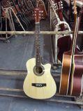 Guitarra acústica elétrica colorida barata Sg028c de Srudents da venda por atacado da fábrica de Aiersi