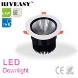 7W aluminio LED Downlight con el proyector de Ce&RoHS LED