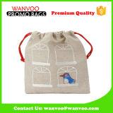 2016 sacs cosmétiques de empaquetage de cordon de velours de toile de Noël de nouveau produit pour le renivellement de Gift&