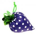 Sacchetto di nylon pieghevole promozionale bello della borsa della spalla di acquisto della fragola