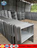 Fabrik-Preis-galvanisiertes doppeltes Strichleiter-Rahmen-Baugerüst 1219mmx1700mm