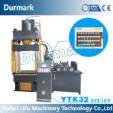 Machine de presse hydraulique d'étirage profond avec le câble d'alimentation automatique pour le plafond en métal