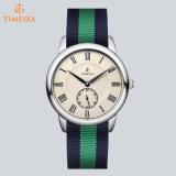 ブランドのDwの上の腕時計女性ナイロンストラップの軍の水晶腕時計71002のための贅沢な様式の腕時計