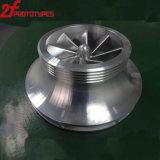 Precisie 5 die het Grote Volum Aluminium van de As CNC Prototype machinaal bewerkt