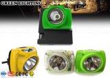 Farol antiexplosivo do diodo emissor de luz da segurança de mineração IP68 com indicador de OLED