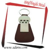 L'usine conçoivent la chaîne principale en métal avec l'émail mol de couleur pour le porte-clés fait sur commande de logo de cadeaux de promotion