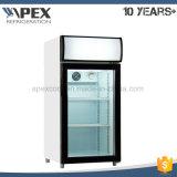 Mostrador de refrigerador de refrigerador com visor superior com alta qualidade