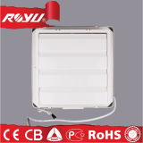 De plastic Vierkante Kleine Ventilator Met geringe geluidssterkte van de Uitlaat van het Venster van de Kelderverdieping