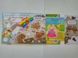 Impulso ultramarino e tração das crianças da impressão do livro que aprendem o livro da placa