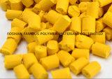 、注入の鋳造物吹く、フィルム突き出されたシートのための高い濃度のプラスチックカラー黄色Masterbatch