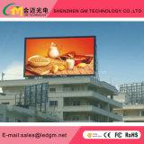 Doppio schermo di visualizzazione impermeabile parteggiato fisso esterno del LED per fare pubblicità